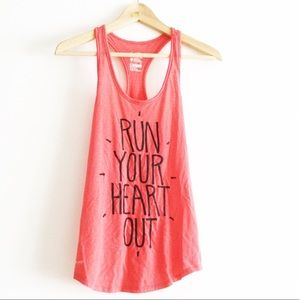 Nike Tank Top Run your Heart Out